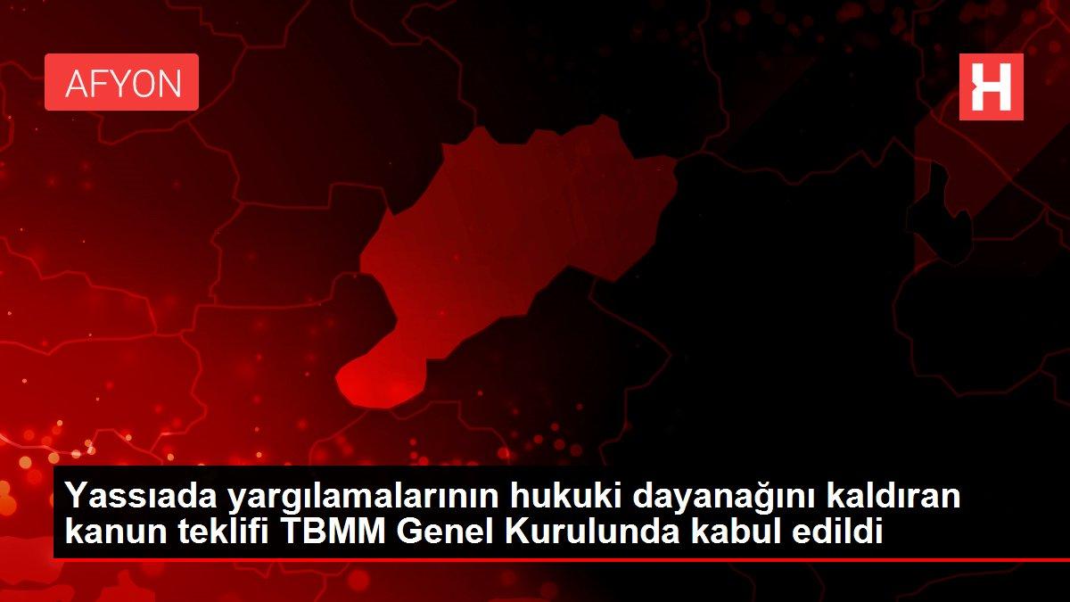 Son dakika haberleri | Yassıada yargılamalarının hukuki dayanağını kaldıran kanun teklifi TBMM Genel Kurulunda kabul edildi