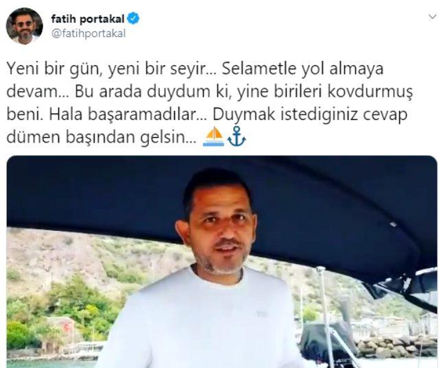 Fatih Portakal'dan kanaldan kovuldu iddialarına yanıt: Başamadınız