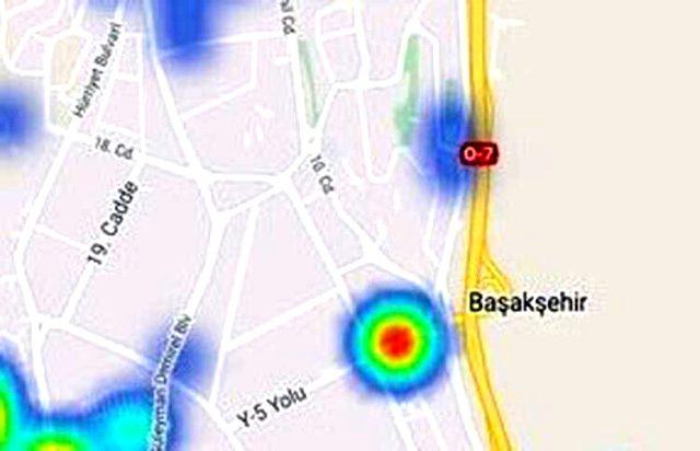 İstanbul'un koronavirüs yoğunluk haritası güncellendi! İşte ilçe ilçe son durum