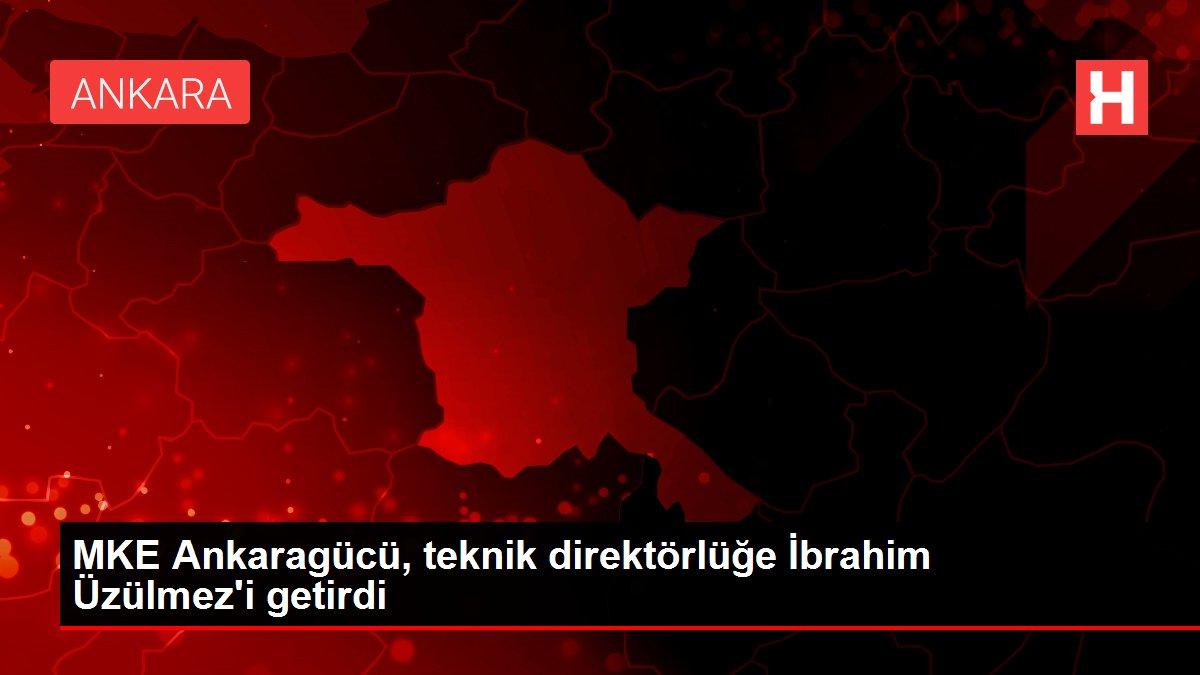 MKE Ankaragücü, teknik direktörlüğe İbrahim Üzülmez'i getirdi