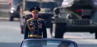 Rusya'da pandemi nedeniyle ertelenen Zafer Günü törenle kutlandı