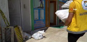 Son dakika haberi... Şanlıurfa'da karantinadaki vatandaşlara gıda desteği