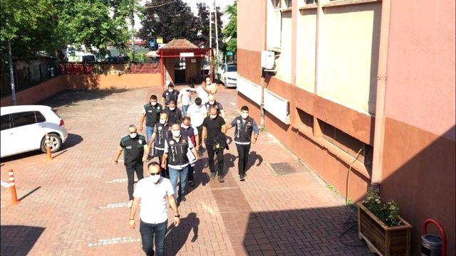 Bartın'da uyuşturucu tacirlerine operasyon: 5 tutuklama