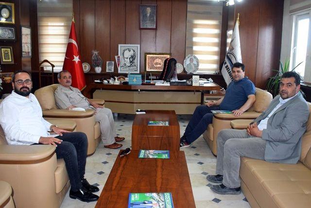 Son dakika... DP Genel Başkanı Uysal'dan İscehisar Belediye Başkanı Ahmet Şahin'e ziyaret