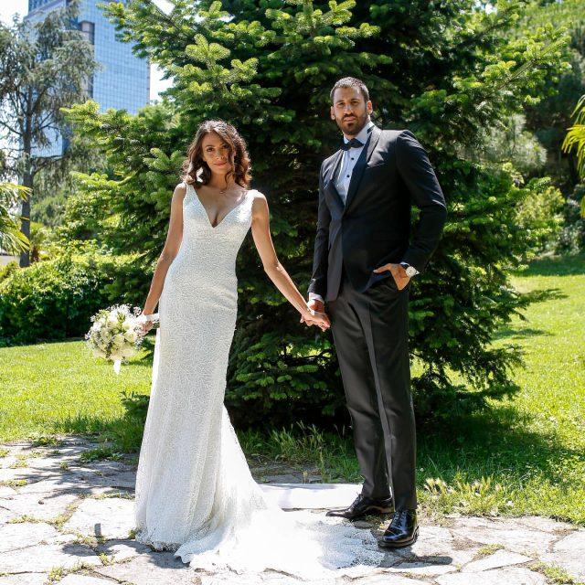 Ezgi Avcı ve basketbolcu Nemanja Djurisic evlendi