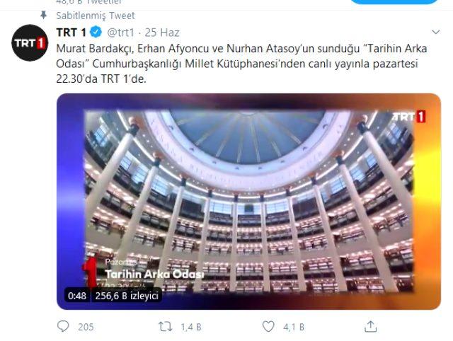 Tarihin Arka Odası TRT 1'de ekranlara geri dönüyor