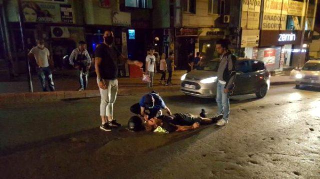 Alkollü sürücü, kendisine müdahale edenlerden helallik istedi