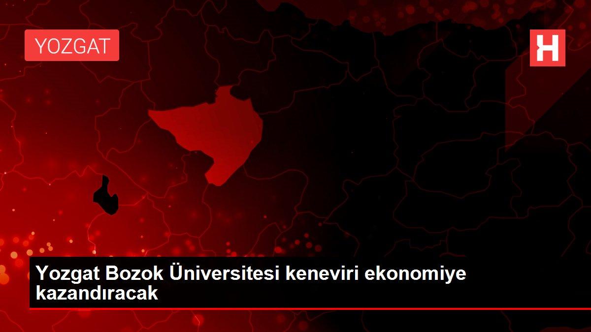 Yozgat Bozok Üniversitesi keneviri ekonomiye kazandıracak
