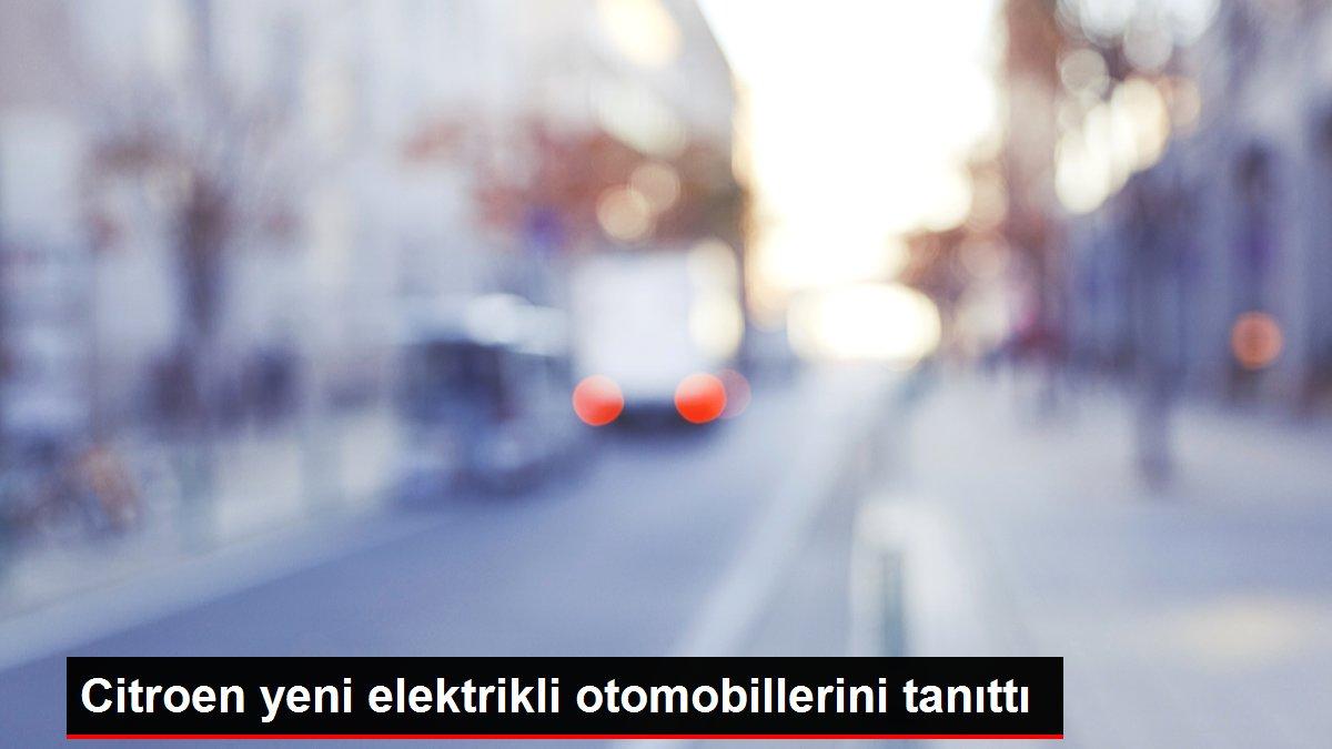Citroen yeni elektrikli otomobillerini tanıttı