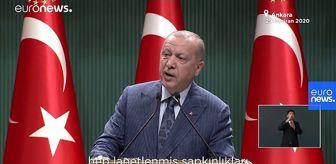 Euronews: Erdoğan: Rabbimizin yasakladığı her türlü sapkınlığı sergileyenlere tavır almaya davet ediyorum