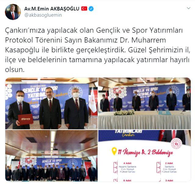 Son Dakika: AK Parti Grup Başkanvekili Muhammet Emin Akbaşoğlu'nun yeni tip koronavirüs testi pozitif çıktı