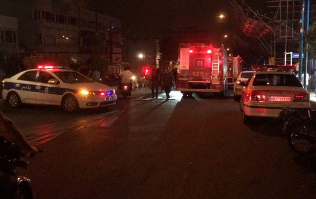 Tahran'da bir klinikte gaz sızıntısı nedeniyle patlama meydana geldi: En az 19 kişi öldü