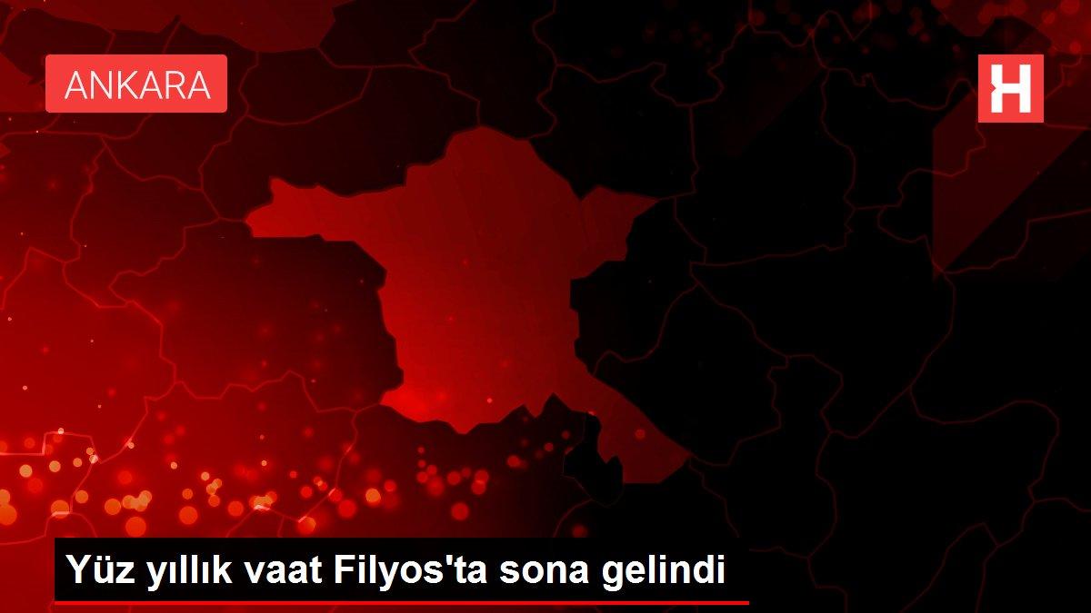 Son Dakika: Yüz yıllık vaat Filyos'ta sona gelindi
