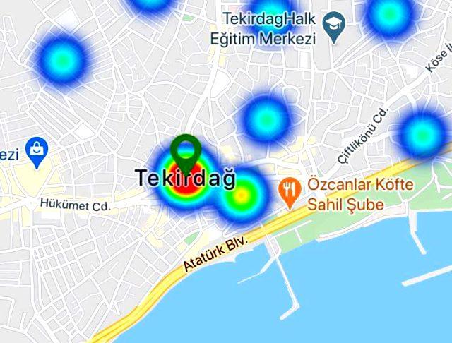 Bakan Koca salgında örnek olan 5 ilimizi açıklamıştı! İşte kentlerin koronavirüs yoğunluk haritası