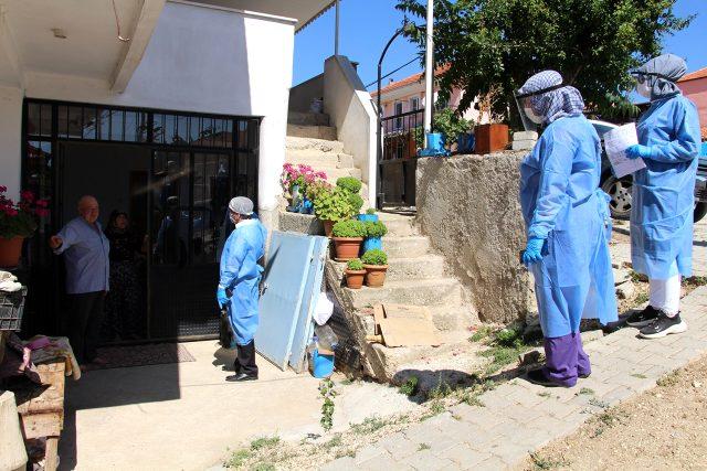Cenaze sonrası pozitif vaka görülen mahallede 139 kişi karantinaya alındı
