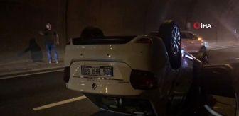 Çayeli: Son dakika haberi... Rize'de zincirleme trafik kazası: 1'i polis, 6 yaralı