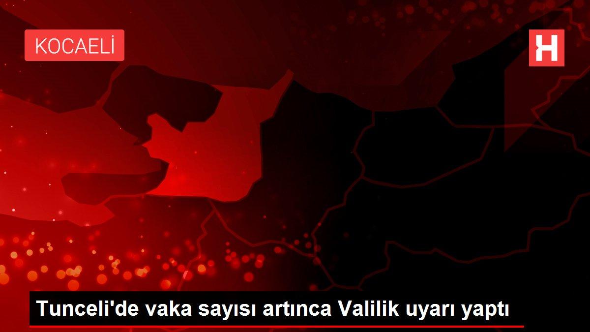 Tunceli'de vaka sayısı artınca Valilik uyarı yaptı