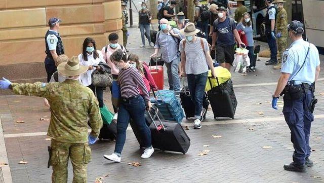 Avustralya'da karantinaya alınan yolcular otel görevlileriyle cinsel ilişkiye girdi, ikinci dalga patlak verdi!