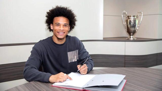 Bayern Münih, Leroy Sane ile 5 yıllık sözleşme imzaladı