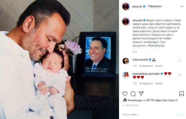 Ezo ve Ali Sunal, babaların Kemal Sunal'ın ölüm yıl dönümünde yaptığı paylaşımlarla duygulandırdı