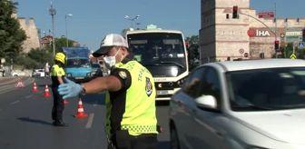 Edirnekapı: Fatih'te ceza yiyen minibüsçü yolculara kızdı
