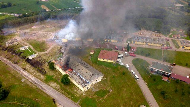 Hendek'te patlama yaşanan fabrikanın MÜSİAD Sakarya Şube Başkanı'na ait olduğu ortaya çıktı