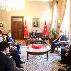 Kazakistan'ın Ankara Büyükelçisi Abzal Saparbekuly Hatay'da