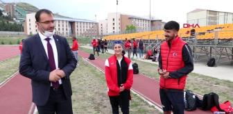 Son dakika haber   Milli atletler normalleşmeyle birlikte Erzurum'da kampa girdi