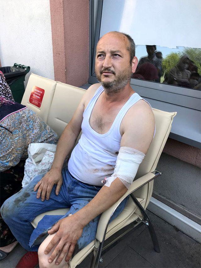 Patlamada yaralanan işçi Recep Ersoy, olay anını anlattı: Patlama ilk vurduğu zaman beni 10 metre fırlattı