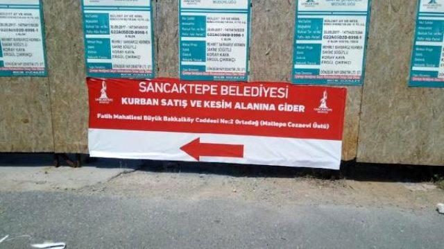 Sancaktepe Belediye Başkanı Döğücü'den İmamoğlu'na pankart sitemi