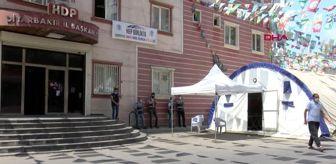 DİYARBAKIR HDP önündeki eylemde 306'ncı gün