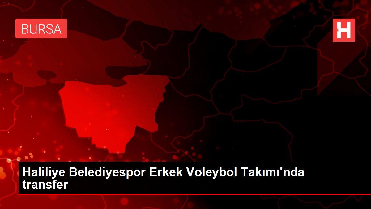 Haliliye Belediyespor Erkek Voleybol Takımı'nda transfer