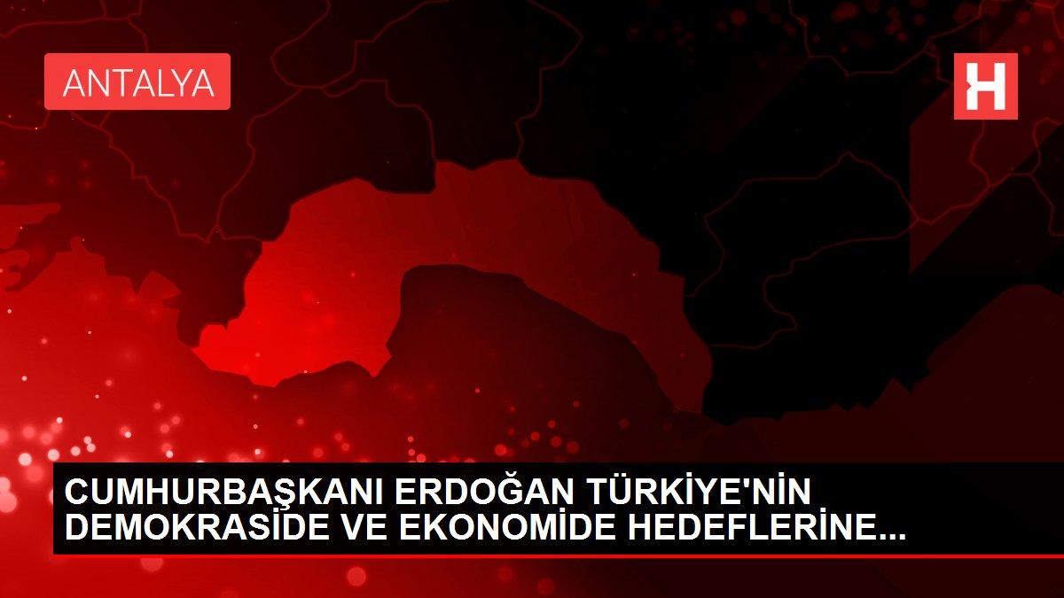 CUMHURBAŞKANI ERDOĞAN TÜRKİYE'NİN DEMOKRASİDE VE EKONOMİDE HEDEFLERİNE...