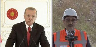 Erdoğan canlı yayında Bakan Dönmez'e çıkıştı: Müsaade edin de konuşmamı yapayım