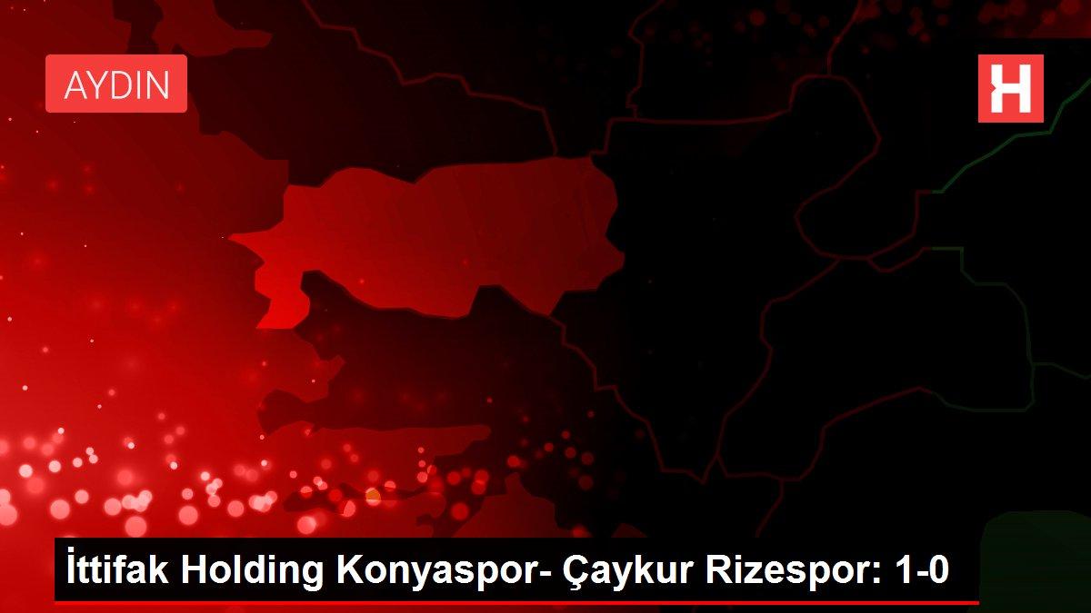İttifak Holding Konyaspor- Çaykur Rizespor: 1-0