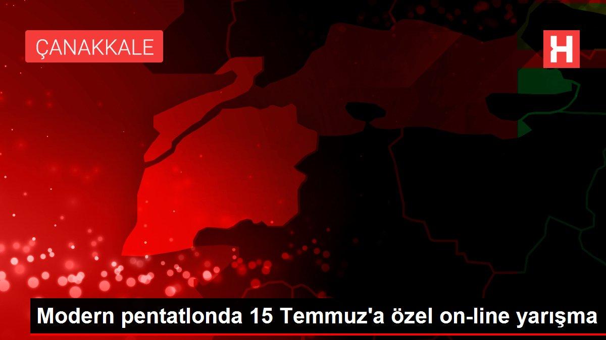 Modern pentatlonda 15 Temmuz'a özel on-line yarışma