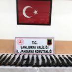 Şanlıurfa'da 17 uzun namlulu silah ele geçirildi