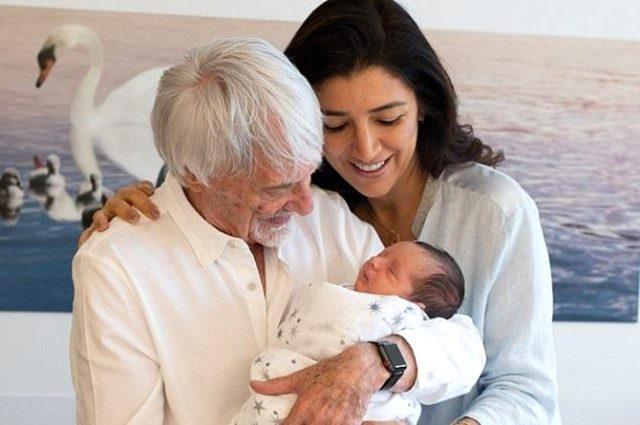 89 yaşında baba olan Bernie Ecclestone sırrını paylaştı: Sadece D vitamini kullandım