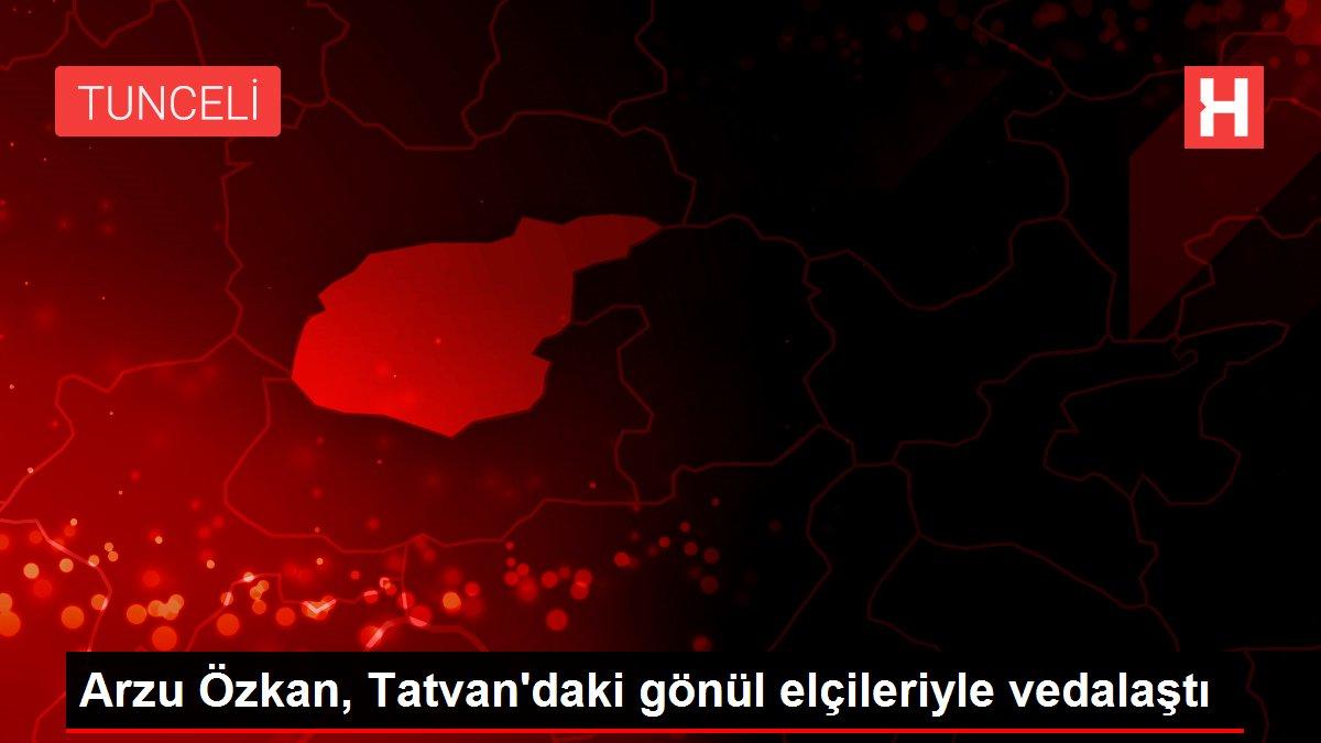 Arzu Özkan, Tatvan'daki gönül elçileriyle vedalaştı