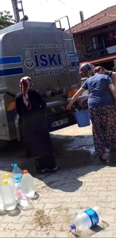 Son Dakika: İSKİ, Şile'de vatandaşların su kuyruğunda beklediği fotoğraflarla ilgili açıklama yaptı