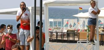 Orhan Özer: Antalya'nın dünyaca ünlü sahilinde loca gerginliği