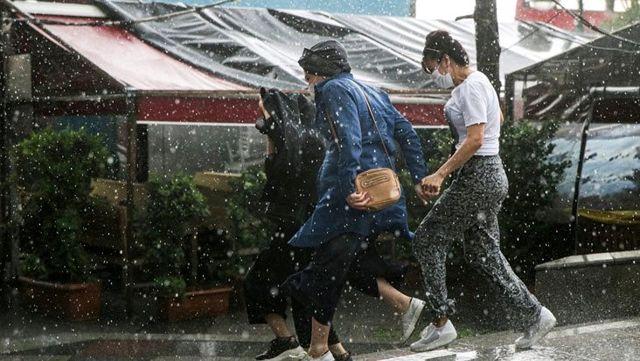 Meteoroloji, 12 il için sağanak yağış uyarısında bulundu