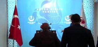 Mustafa Destici: BBP Genel Başkanı Destici gündemi değerlendirdi