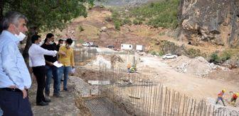 Kaplıca: Son dakika haberleri! Kato Dağındaki modern kaplıcanın temeli atıldı