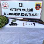 Kütahya'da uyuşturucu operasyonunda 9 şüpheli yakalandı