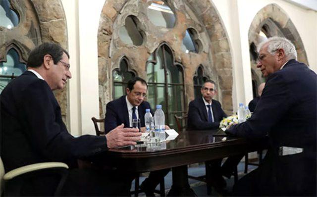 Rum lider Anastasiadis'ten Türkiye'nin Doğu Akdeniz politikası için küstah sözler: Karşı koyacağız