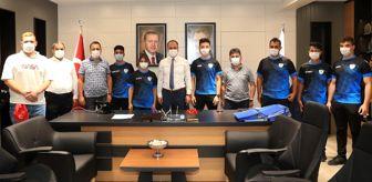 Akın Çelik: Başkan Örki'den sporculara motivasyon