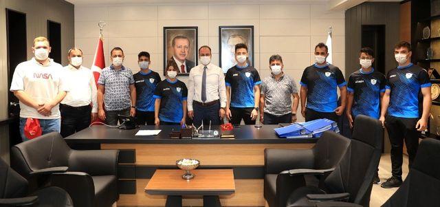 Başkan Örki'den sporculara motivasyon