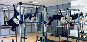 Denizli: PAÜ Spor Merkezinde reformer pilates dersleri başladı