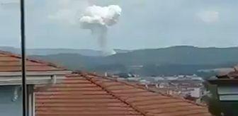 Son dakika: Sakarya'da Hendek'in ardından Taşkısığı'da patlama